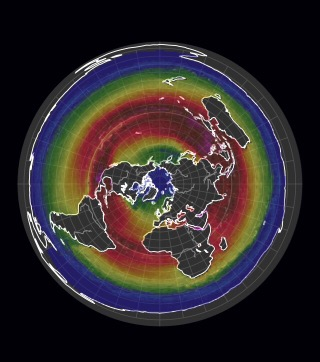 seasons explained on flat earth animation