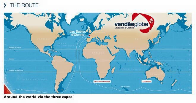 Flat earth science and the bible and god said let there be vendee global yacht race route points to a flat earth gumiabroncs Gallery
