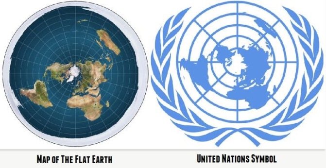 The Occultic United Nations, Lucis Trust, and the Flat Earth Connection