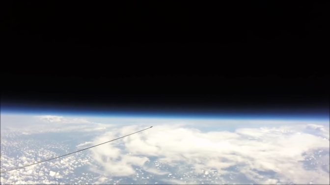 No Curve at 121,000 Feet! High Altitude Balloon Cam Reveals the True Flat Earth
